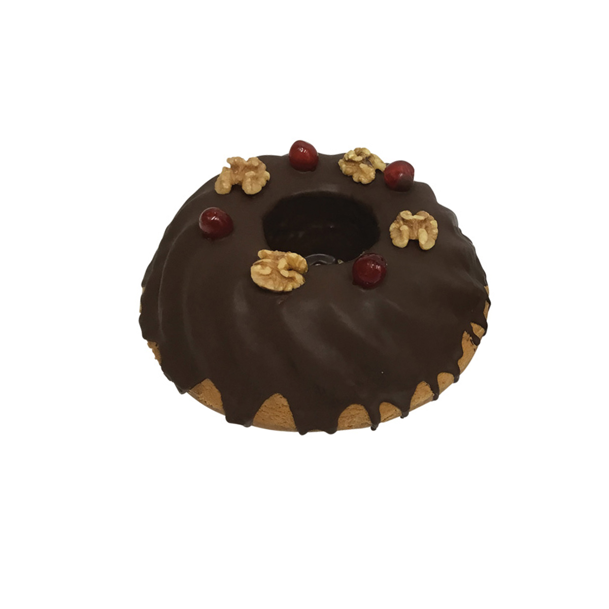 Chocolate Coated Gugolof Cake
