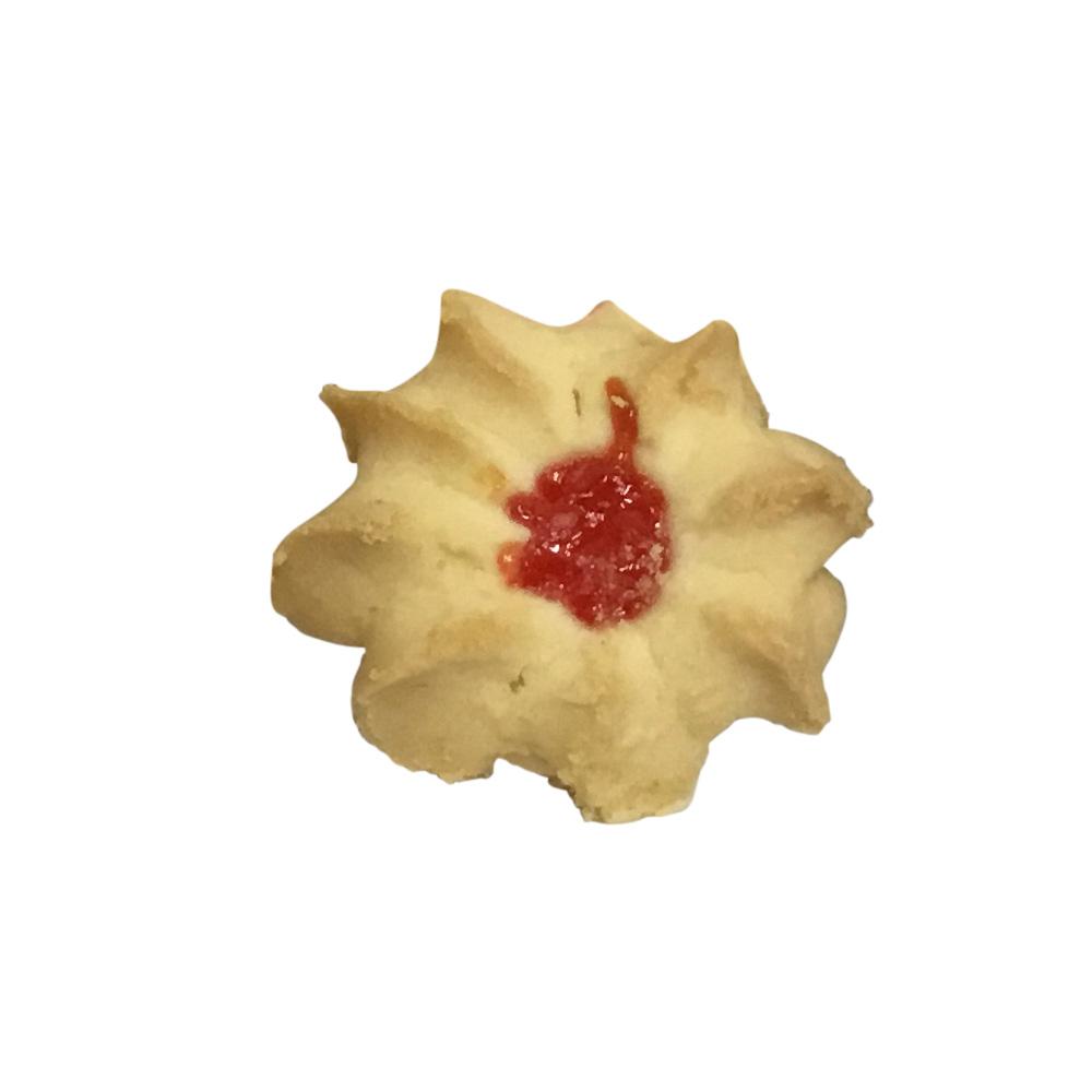 Mini Strawberry or Apricot Jam Shortbread