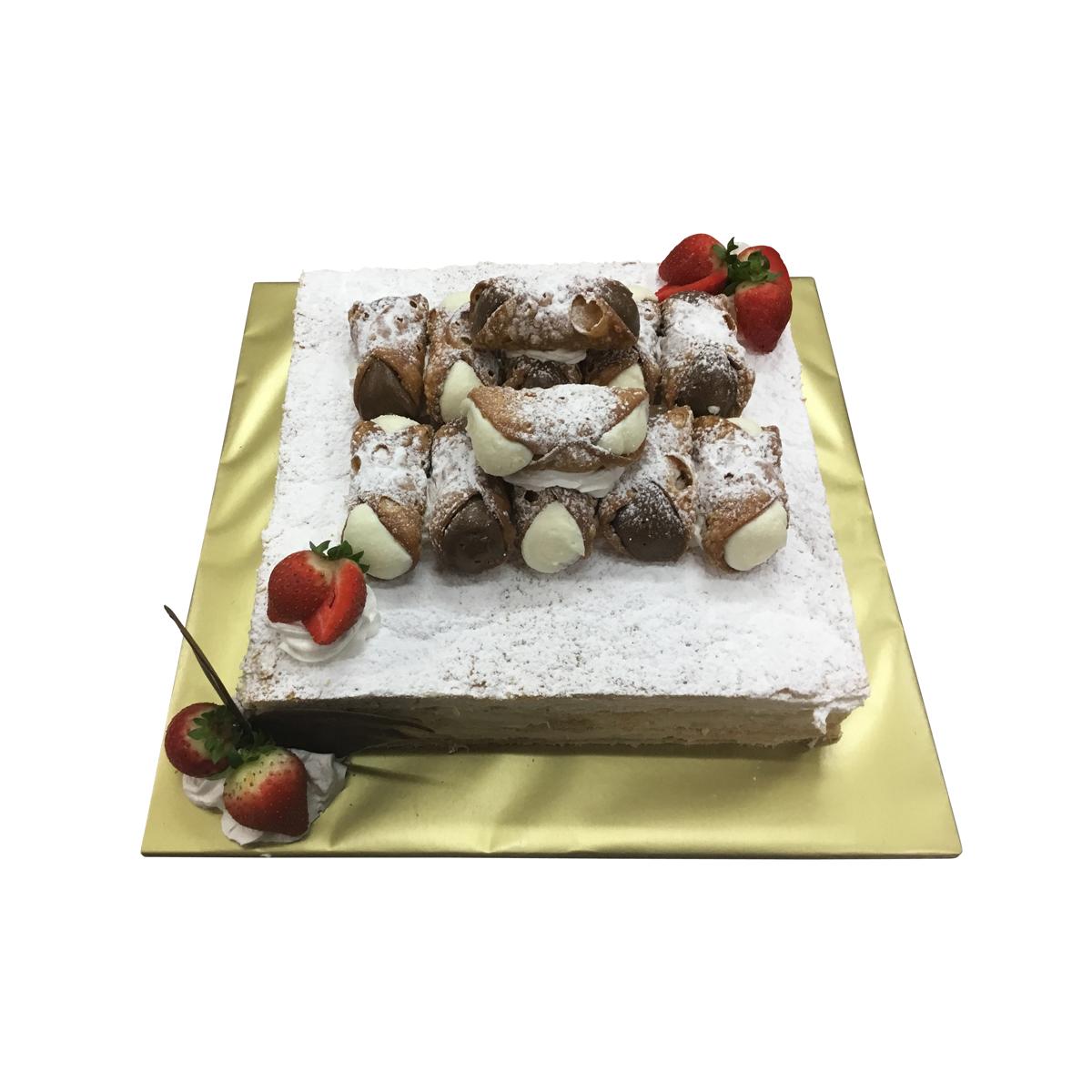 Millefoglie Cannoli Cake