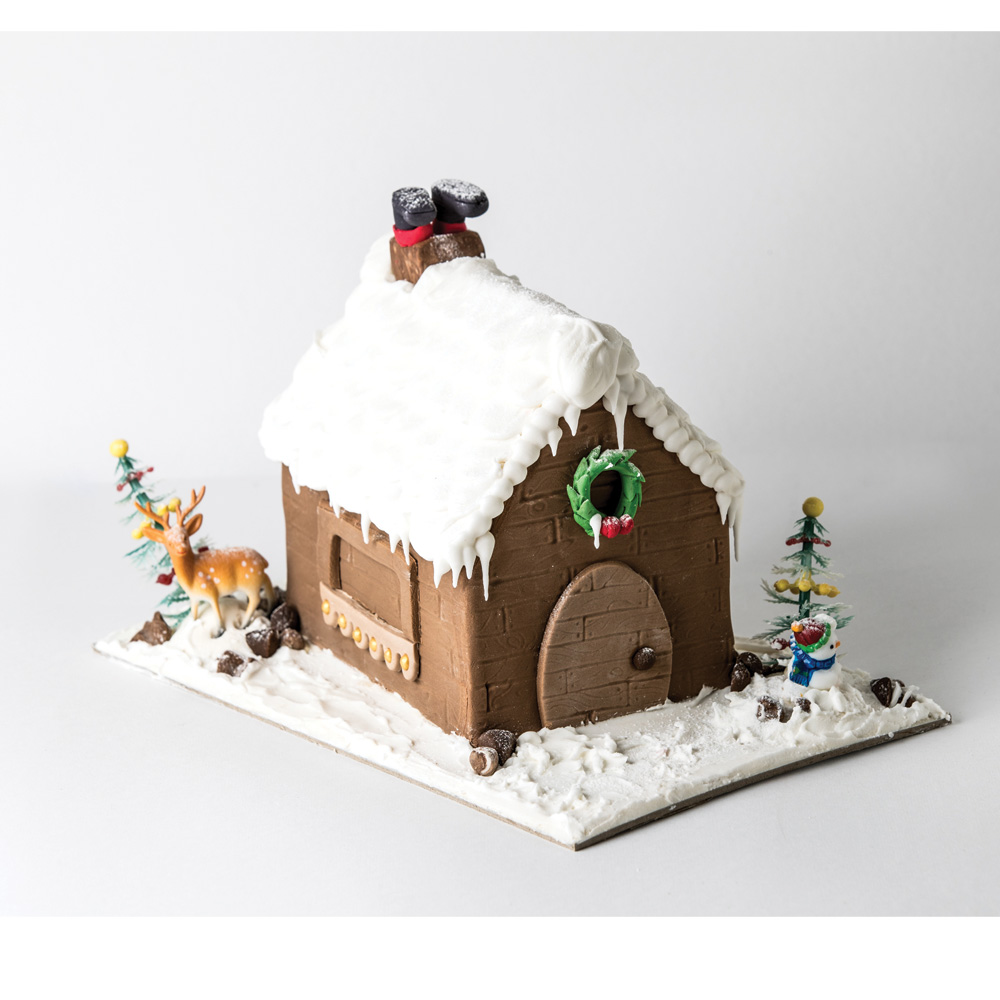 Cassata Mud Christmas House
