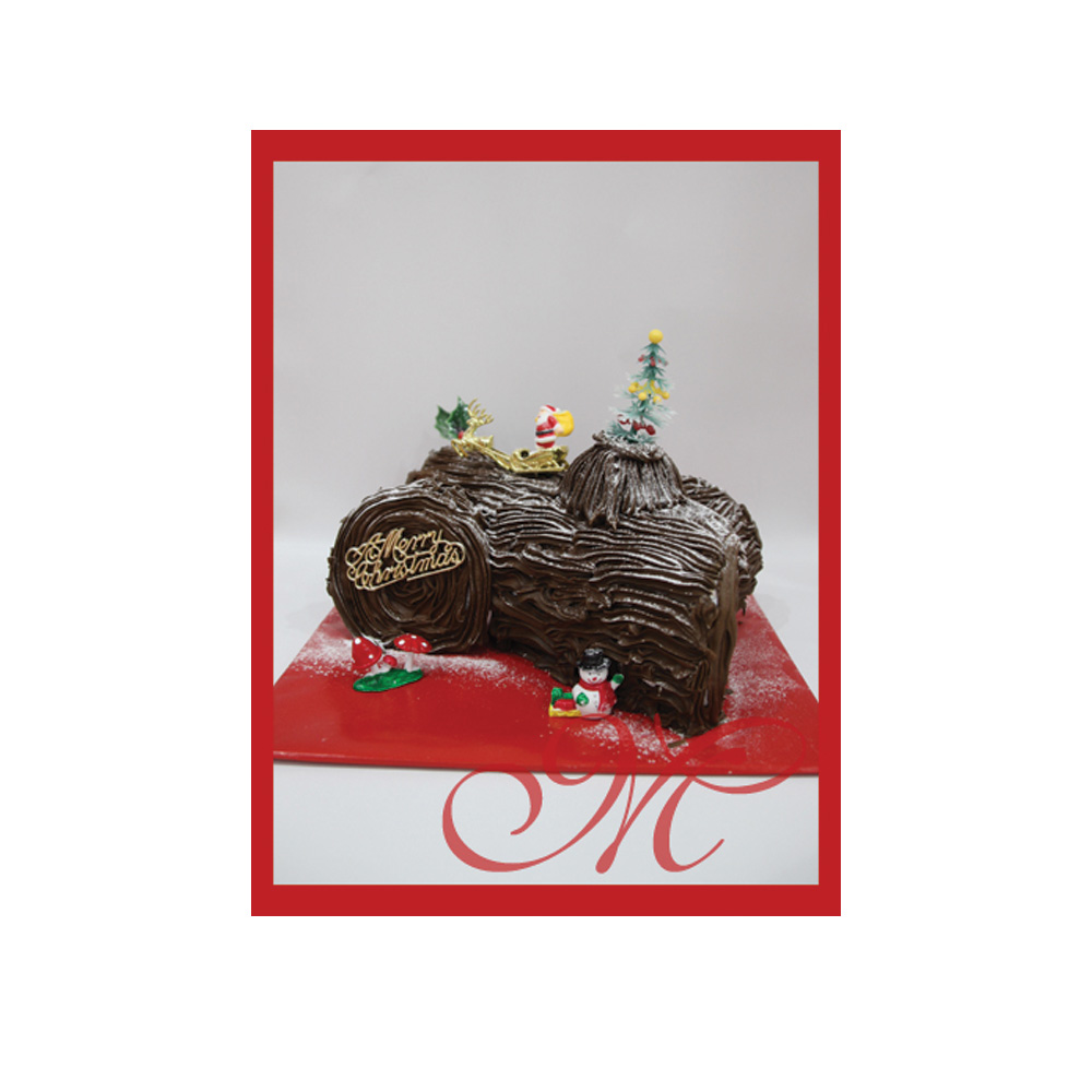 Cassata Christmas Log  (Finished in ganach)